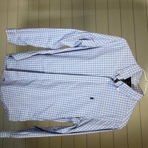 Men's Polo Dress short - slim fit Large